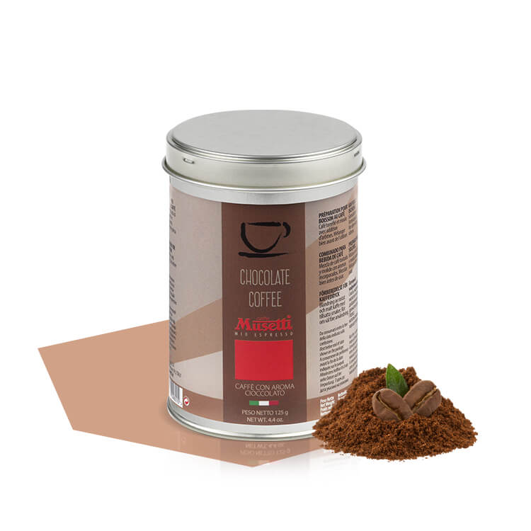 Ground coffee tin 125 g caff musetti for Musetti coffee