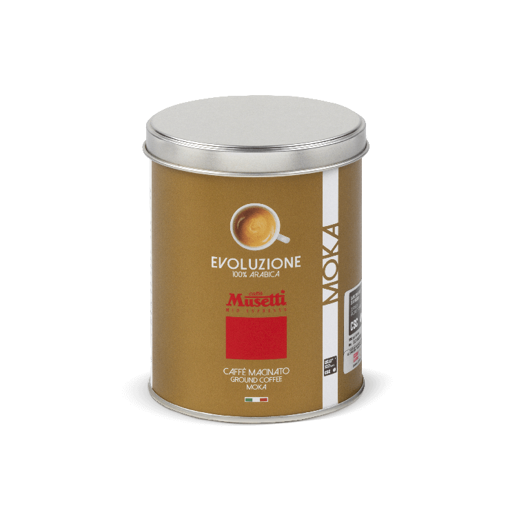 100% Arabica Ground Coffee Tin 250 g