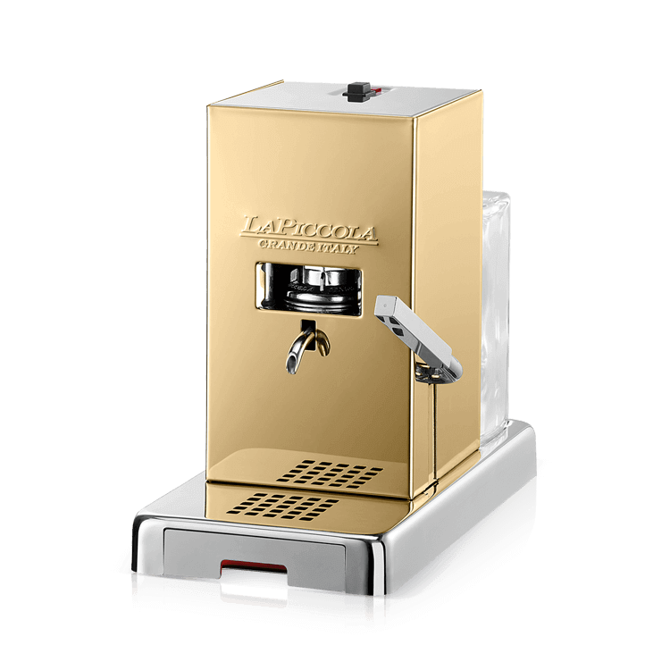 "Coffee machine for pods ""La Piccola Piccola"" Gold"