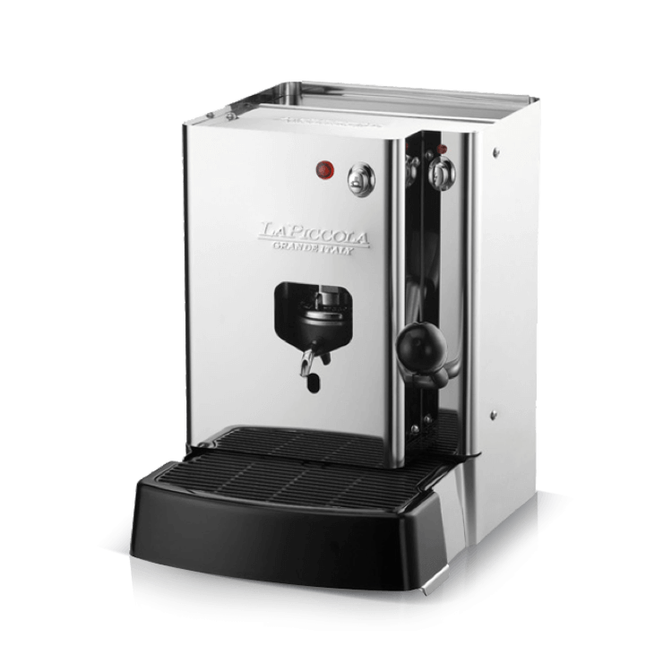 Coffee machine for pods la piccola sara steel caff for Musetti coffee