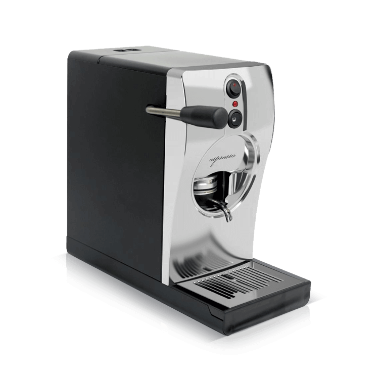 Coffee machine for pods Tube Chrome