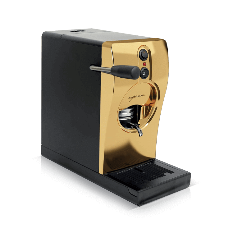 Coffee machine for pods Tube Gold