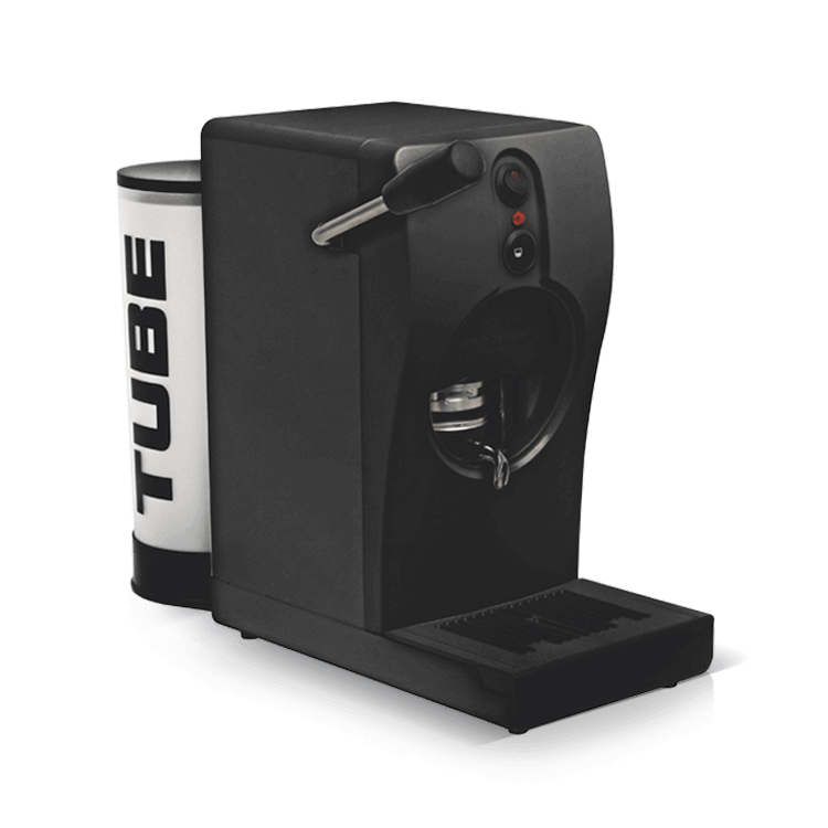 Coffee machine for pods Tube Black